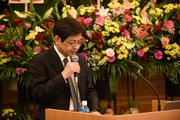 当科教授 川真田先生によるスピーチ